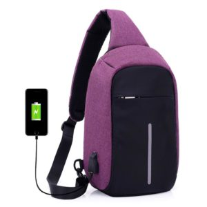 Cross body anti theft backpack00005