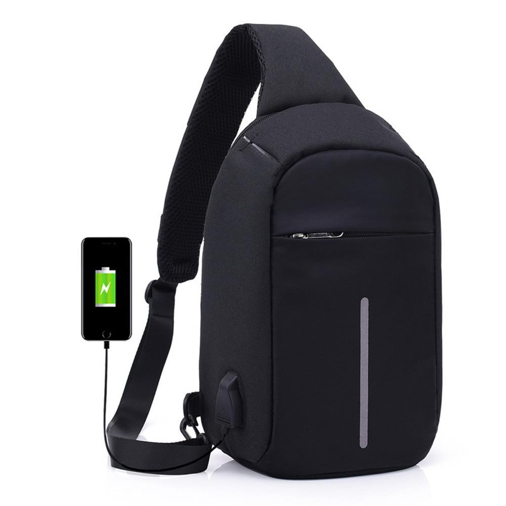 Cross body anti theft backpack00007