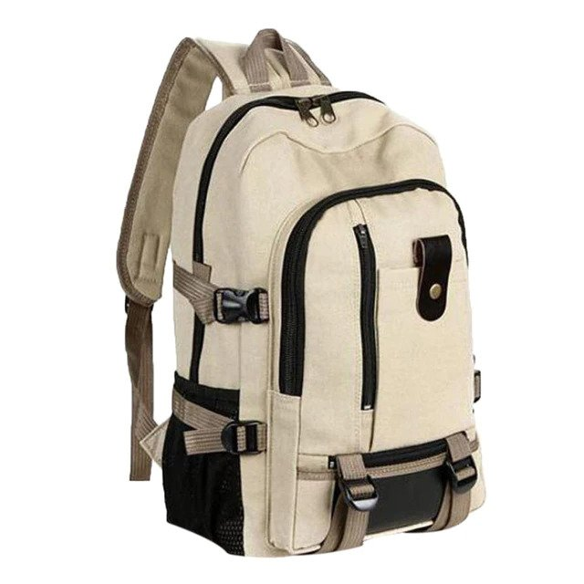 "Anti Theft Backpack Vintage – 15.6"" 1"