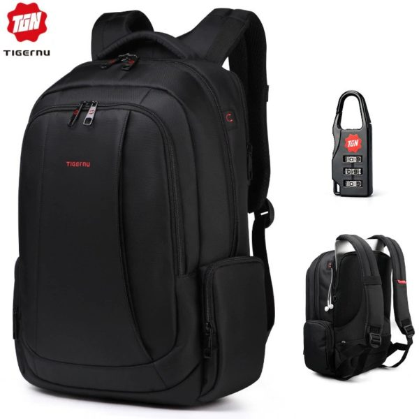 """Anti Theft Backpack -15.6"""" 1"""