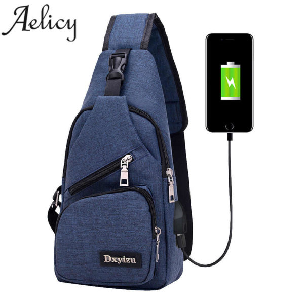 Anti theft sling type Backpack Unisex 1