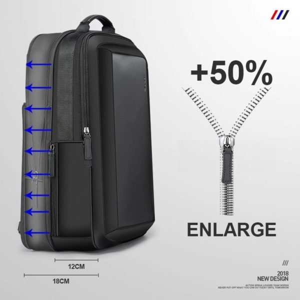 Men anti theft Business Backpack 1