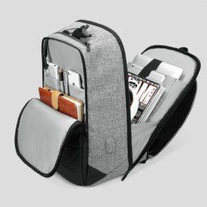 """Men's Anti theft backpack - 15"""" - 1"""