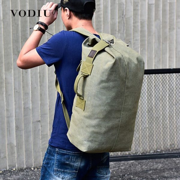 Men's Anti Theft Large Backpack - 1