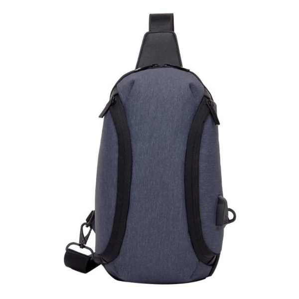 Anti theft cross body backpack 1