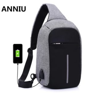 Anti theft Crossbody Backpack2 --- 1