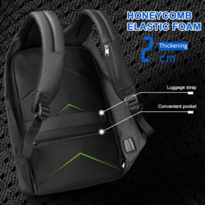"Anti theft multi USB backpack – 15.6"" 1"