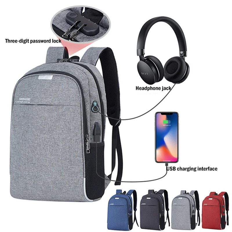 Anti Theft Travel Backpack unisex 1