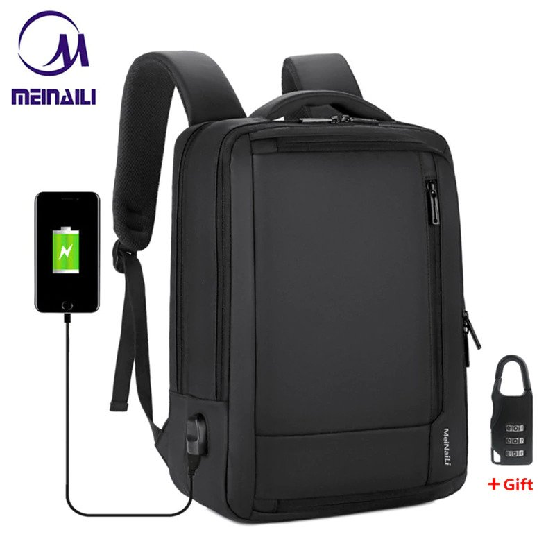 "Anti-theft multifunction backpack - 15.6"" 1"