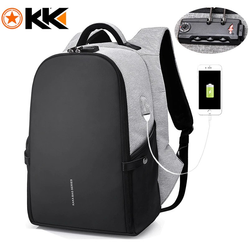 Men's Anti Theft Backpacks-7