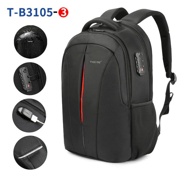 Anti Theft Travel Backpack - 10