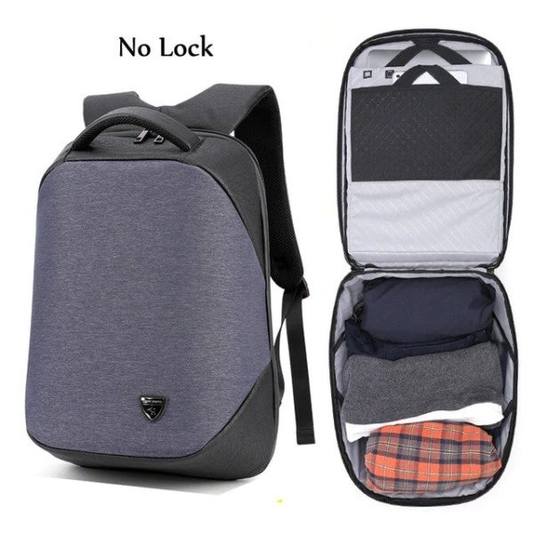 Men's Anti theft Backpack12