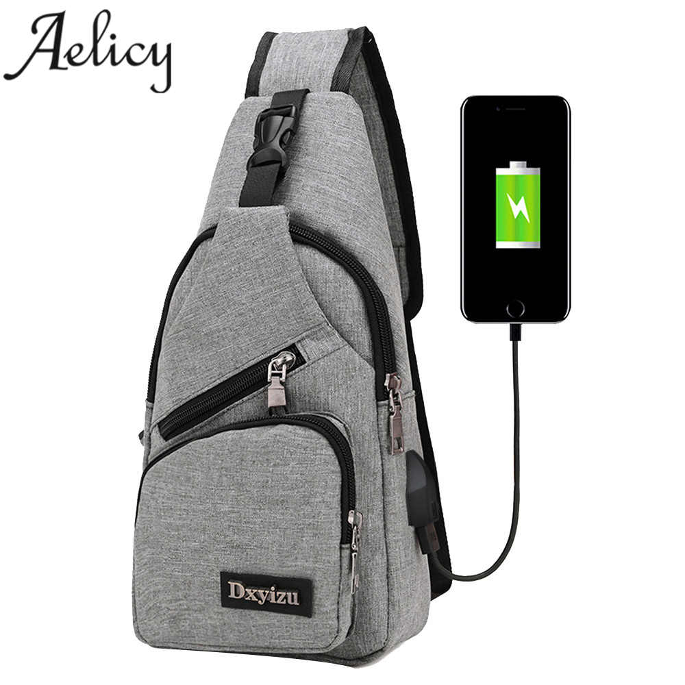 Anti theft sling type Backpack Unisex 2