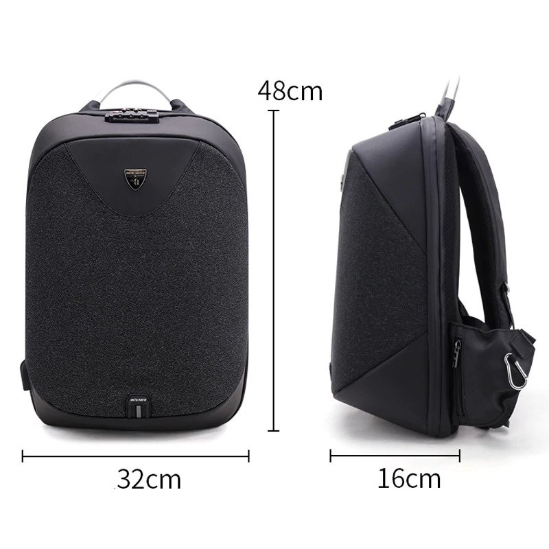 Men's Anti theft Backpack2