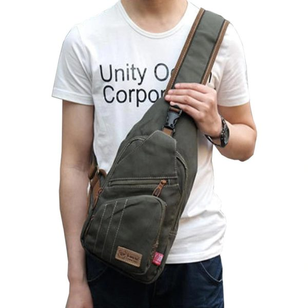 Anti theft Crossbody Backpack - vintage 1
