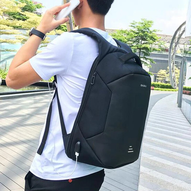 Anti Theft Backpack Unisex 2