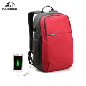 "Men's Anti theft Waterproof Backpack 15.6"" - 1- 2"