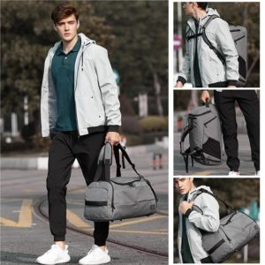 Anti theft multifunctional backpack - -1 -- 2