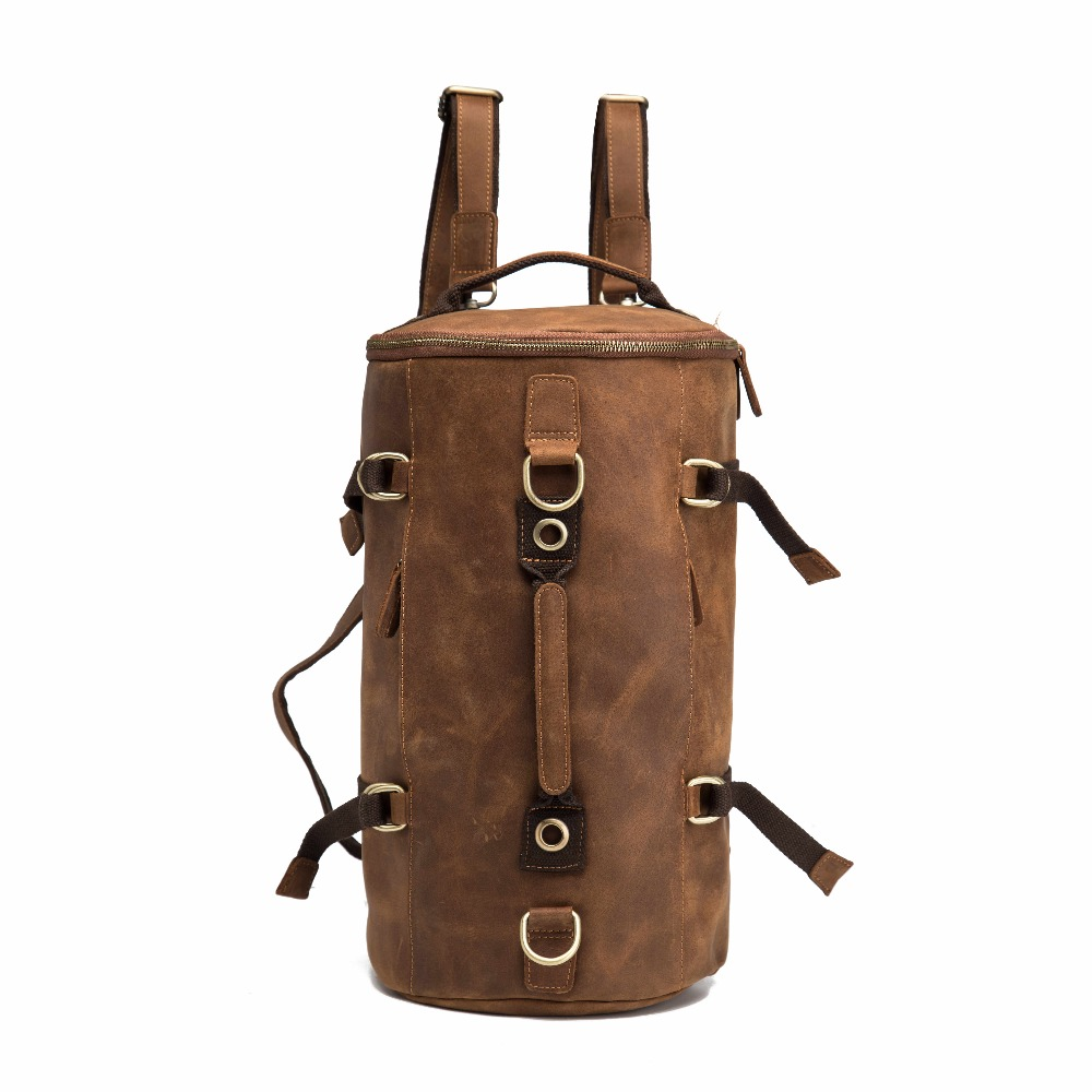 Anti theft Leather Backpack --- 2