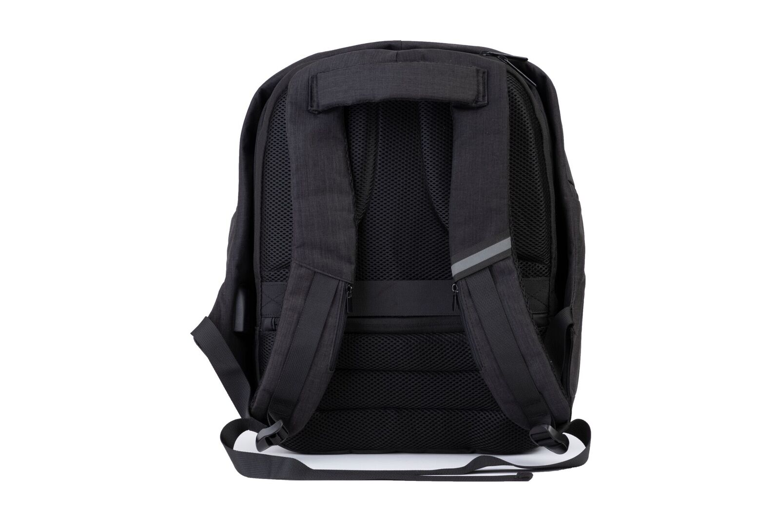 back strap view of snug anti theft backpack photo