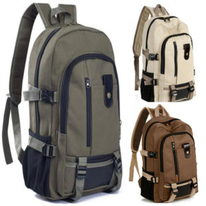 "Anti Theft Backpack Vintage – 15.6"" 3"