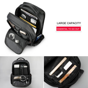 """Anti Theft Backpack -15.6"""" 3"""