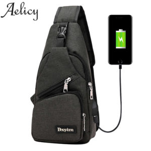 Anti theft sling type Backpack Unisex 3