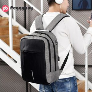 """Anti-theft backpack -15.6"""" 3"""