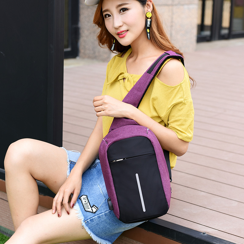 Anti theft Crossbody Backpack2 --- 3
