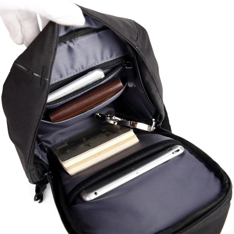 Anti theft Crossbody Backpack - 1 -- 3