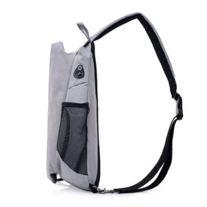 Men's anti theft triangle crossbody Backpack3
