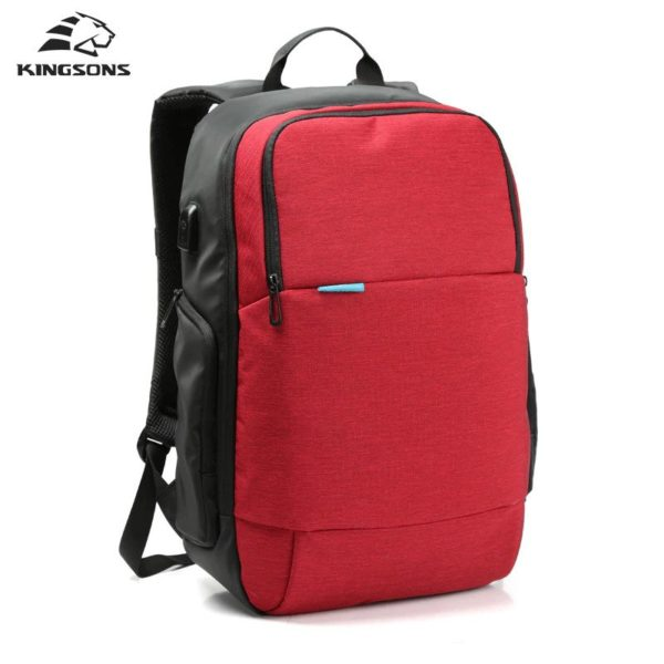 "Men's Anti theft Waterproof Backpack 15.6"" - 1- 3"