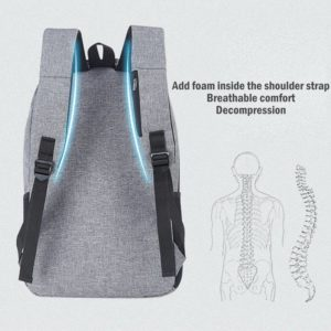 Anti Theft Travel Backpack unisex 3