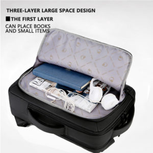 """Anti-theft multifunction backpack - 15.6"""" 3"""