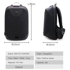 "Anti Theft waterproof Backpack -15.6"" 4"