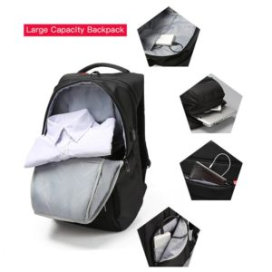 Anti theft Backpack unisex --- 4