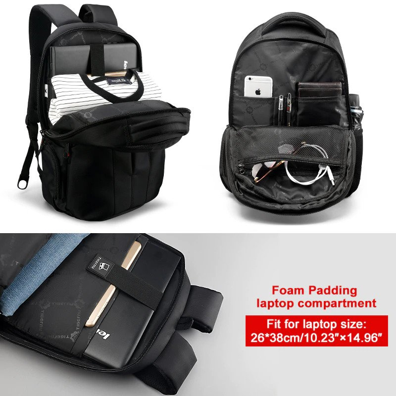 Multifunction Anti-theft Backpack - 4