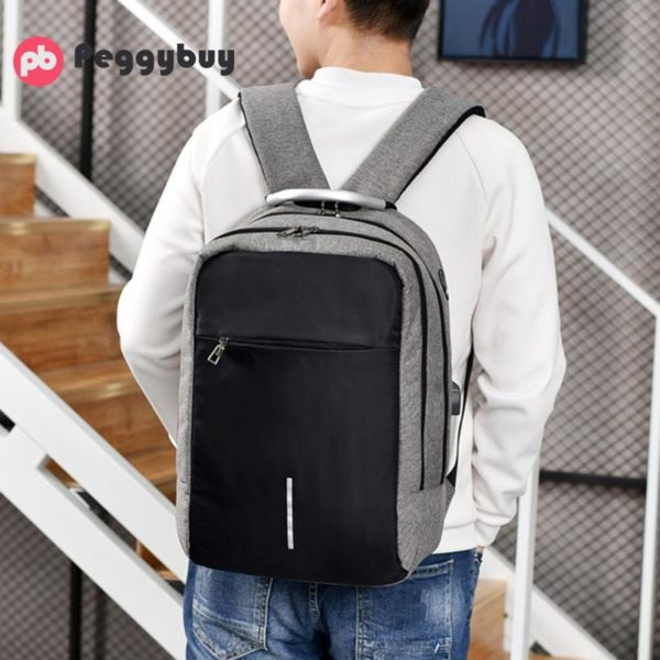 """Anti-theft backpack -15.6"""" 4"""