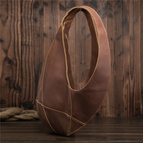 Anti-theft Backpack genuine leather 4