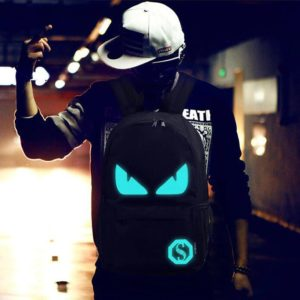 Anti theft Luminous Animation backpack 4