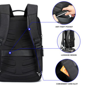 Men anti theft Business Backpack 4