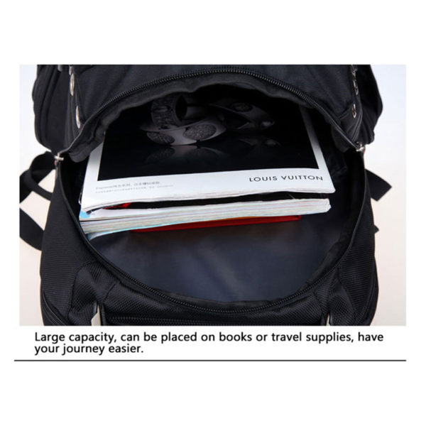 Men's Anti theft Backpack ---4