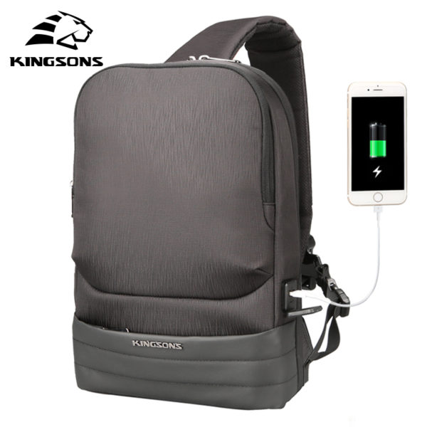 Anti theft crossbody Backpack --- 4