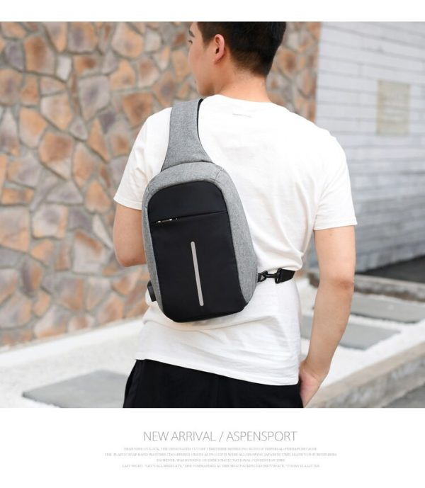 Anti theft Crossbody Backpack2 --- 4