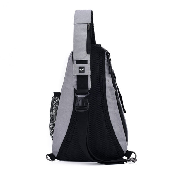 Men's anti theft triangle crossbody Backpack4