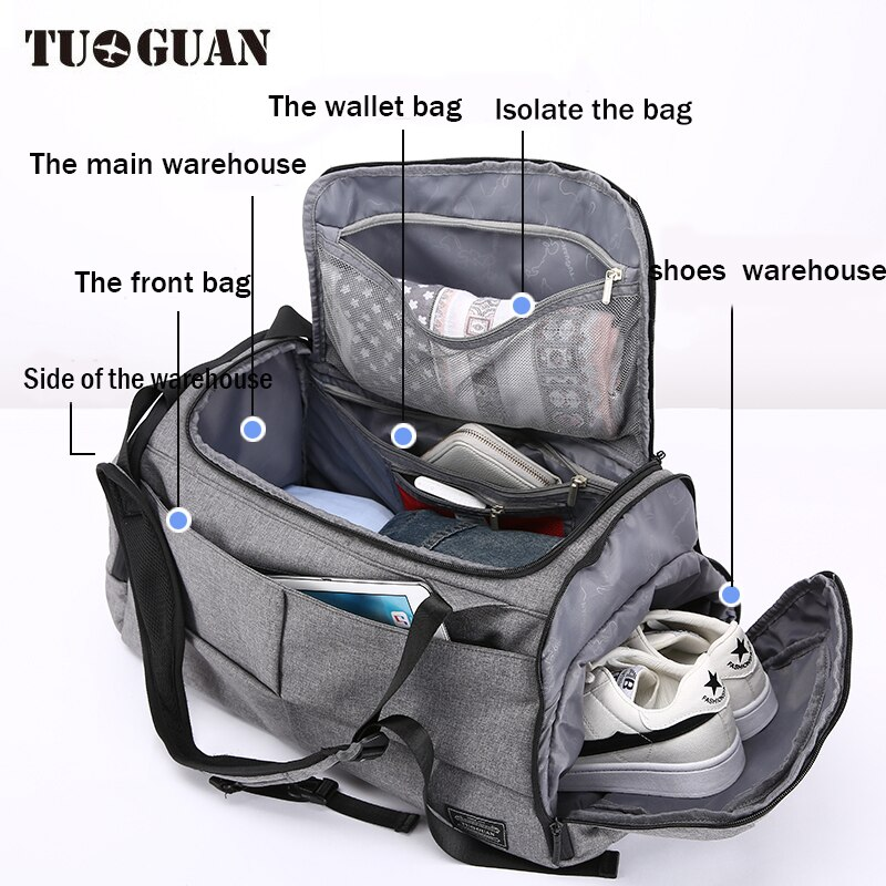 Anti theft Multifunctional Backpack-2 -4