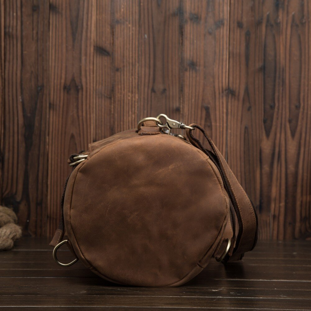 Anti theft Leather Backpack --- 4