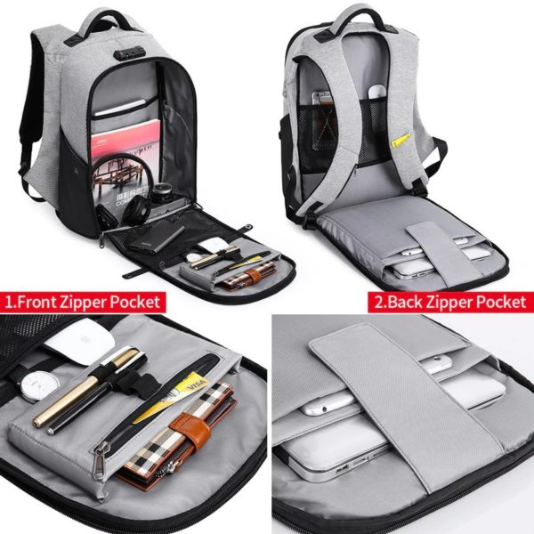 Men's Anti Theft Backpacks-3
