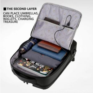"""Anti-theft multifunction backpack - 15.6"""" 4"""