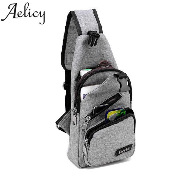 Anti theft sling type Backpack Unisex 5